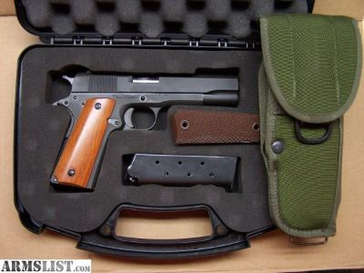 For Trade: RIA 1911 GI for compact handgun in 9mm or 38 special
