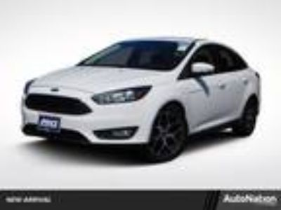 Used 2017 Ford Focus WHITE, 16.8K miles