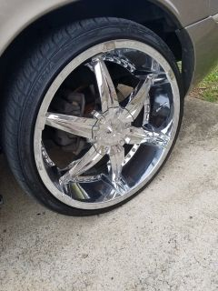 """22"""" Rims without Tires"""