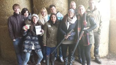 Stag and hen activities at AA Shooting School,Dorset,UK