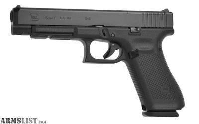 For Sale: BNIB Glock 34 Gen 5 MOS
