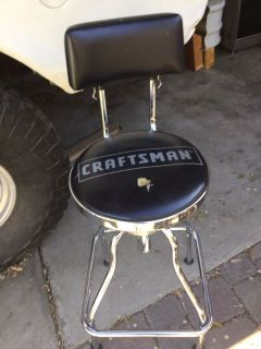 Craftsman adjustable shop chair