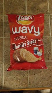 Lays Wavy Original Family Size Potato Chips - Offer 2 of 2