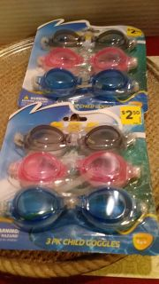 New 3packs goggles for kids