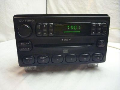 Sell 2001-2004 Ford Mustang Explorer OEM Radio Single Disc Cd 4L2T-18C815-EA BF 802 motorcycle in Williamson, Georgia, United States, for US $150.00