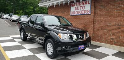 2018 Nissan Frontier Crew Cab 4x4 SV Auto Long Bed (Magnetic Black)