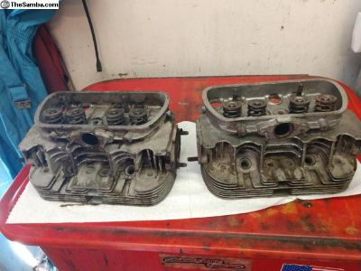 Pair of 40 Horse Cylinder Heads