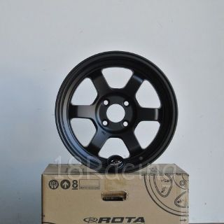 Sell ROTA WHEEL GRID V 15X7 20 4X100 FLAT BLACK MIATA CIVIC LAST SET motorcycle in Hayward, California, United States, for US $530.00