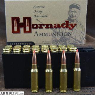 For Sale: Hornady Custom 6.5 Grendel 123 Grain SST Ammunition