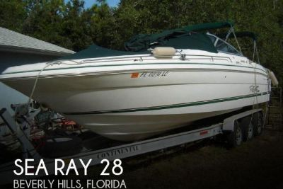 1999 Sea Ray 280 Signature