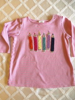 Mud Pie back to school tunic 4t/5t