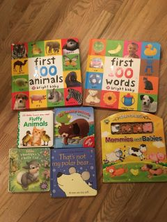 Baby/Toddler Board Books Lot