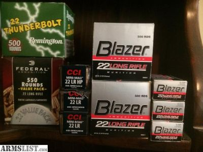 For Sale: .22LR 2500 rds