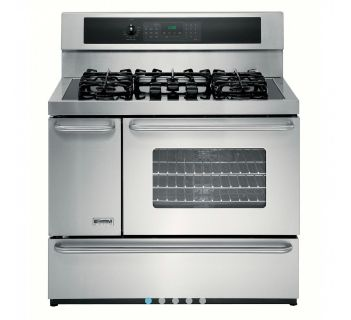 Double Oven and Gas Range