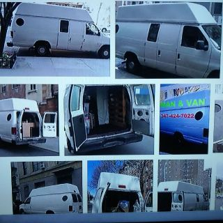 man w van able assist with your single furniture , room or studio apt -just call 347-424-7022
