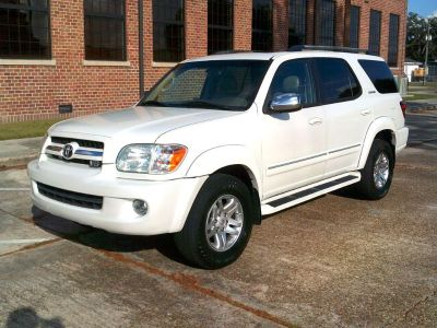 2007 Toyota Sequoia Limited (WHI)