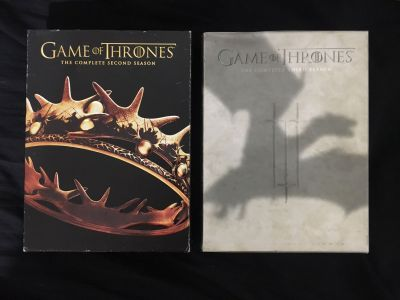 Game of Thrones Seasons 2 and 3 DVD