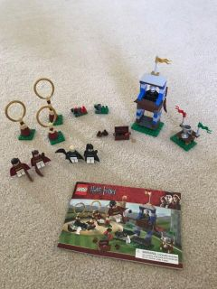 Harry Potter Lego. RETIRED SET...Quidditch Pitch