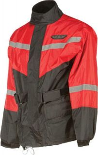 Buy Fly Street 2-PC Rain Suit Black/Red XL, #6016 478-8011~5 motorcycle in Hudsonville, Michigan, United States, for US $65.00