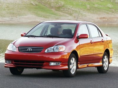 2003 Toyota Corolla CE (Impulse Red)