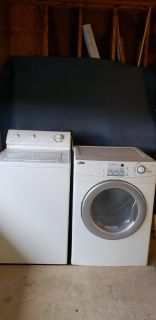 Washer & Dyer- electric