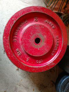 Jones Barbell, Baker's Barbell weight plates
