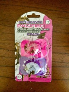Brand New Girl Pacifiers