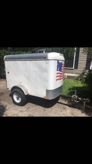 4x6 cargo trailer for sale
