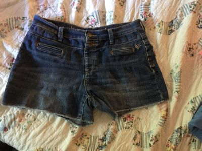 Justice jean shorts size 16 1/2
