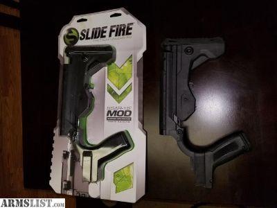 For Sale: Slide fire bump stocks