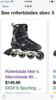 Roller blades made in Italy