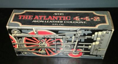 Avon 1973 Atlantic 4-4-2 Decanter