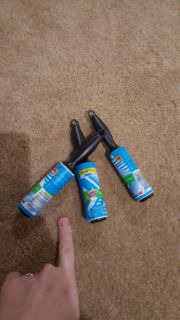Travel-size lint roller