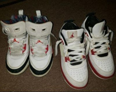 Retro 4s and spizikes size 3y