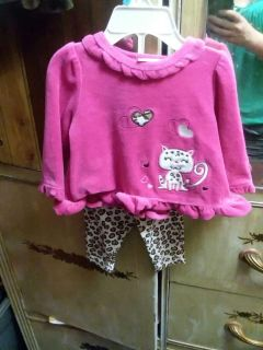 Never Worn Size 6/9 Month Outfit