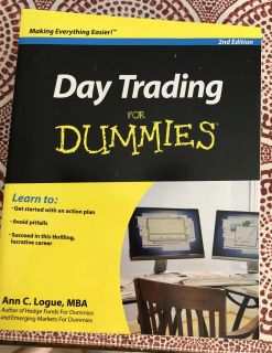 BRAND NEW!!!! Day Trading for Dummies. $2.50 each