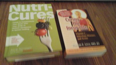 2 Book Set Nutri Cures and Curing the Incurable