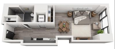 $6480 1 apartment in South End