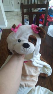 Girl Puppy Costume 12-24 mos