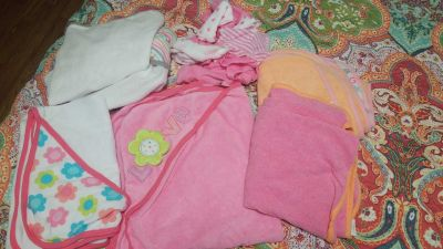 Infant towels and washcloths