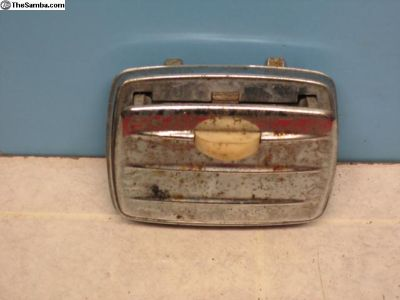 Early convertable only rear ashtray