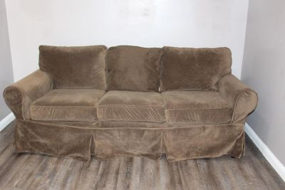 Pottery Barn Slip Cover Sofa