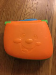 Fisher price bilingual learning laptop