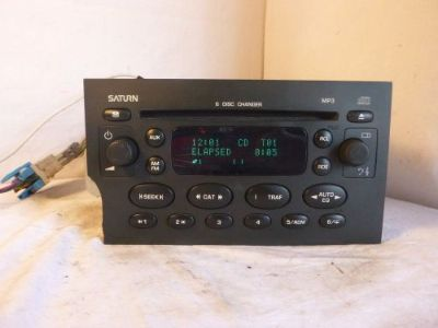 Buy 2004 2005 04 05 Saturn Vue Ion Factory Radio 6 Disc Cd Mp3 Player 22727871 eB711 motorcycle in Williamson, Georgia, United States