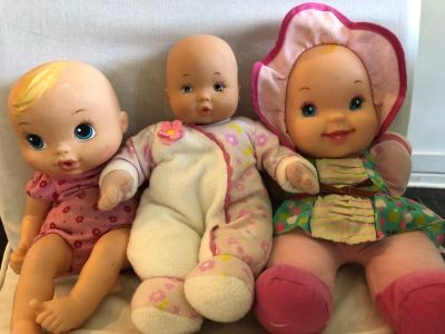 Baby Dolls, Baby Alice and Madame Alexander, All plush bodies