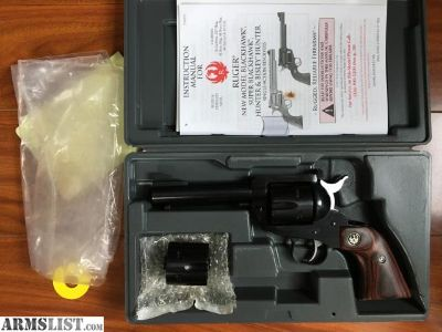For Sale: New in box Ruger Blackhawk flat top convertible