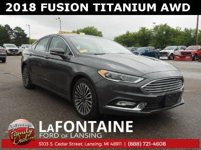 2018 Ford Fusion Titanium (Magnetic Metallic)