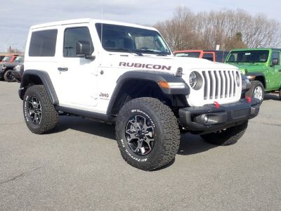 2019 Jeep Wrangler Rubicon (Bright White Clearcoat)