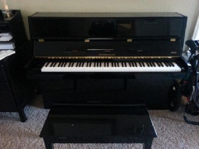 "$2,600 OBO 42"" Upright Pramberger Piano"