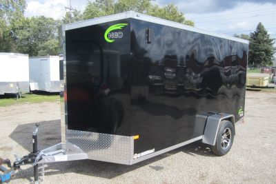 6 x 12 Enclosed Aluminum Trailer